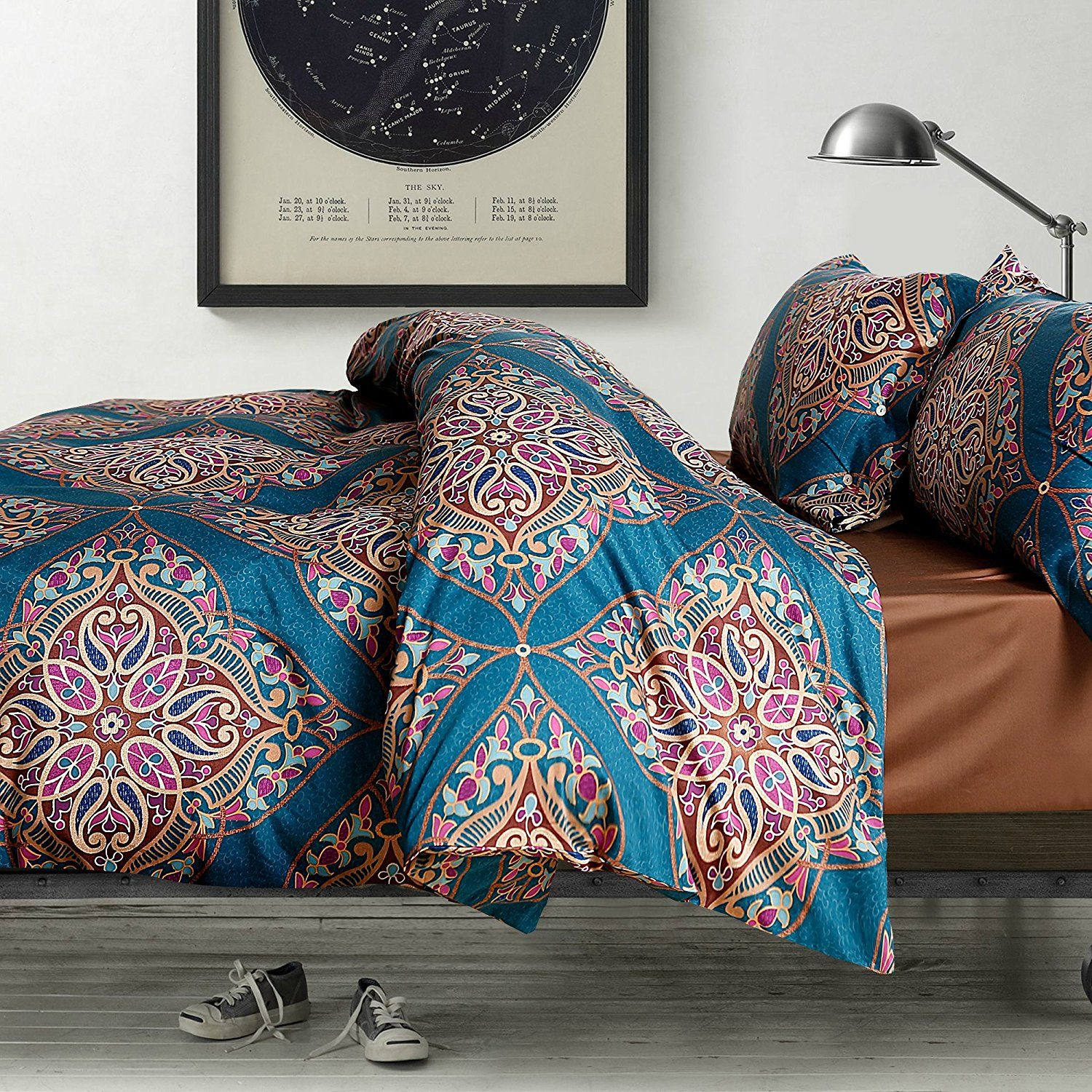 top boho duvet style mandala sets queen best on bedding double most colorful covers quilt set notch with hippie comforter bohemian cover bedspread white