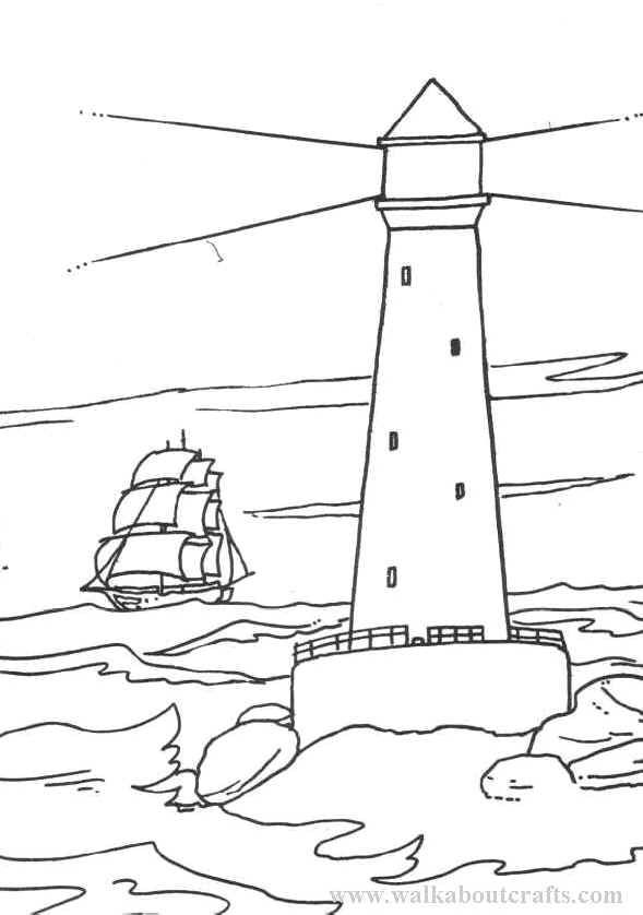 lighthouse coloring pages walkabout crafts gift shop arts crafts gifts souvenirs