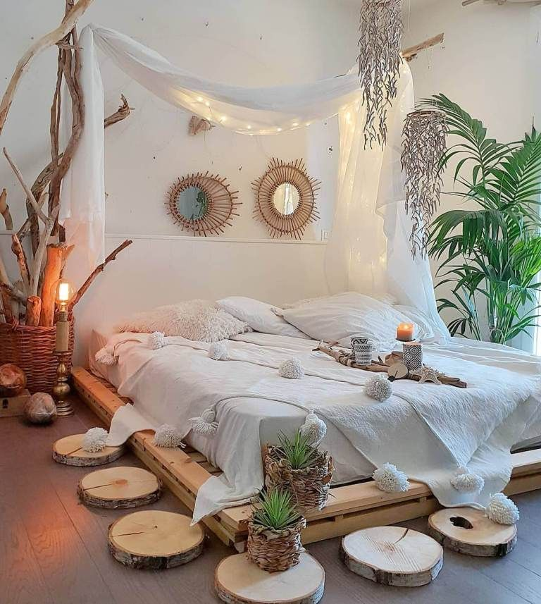 Enchanting shocking bohemian bedroom decoration ideas for ...