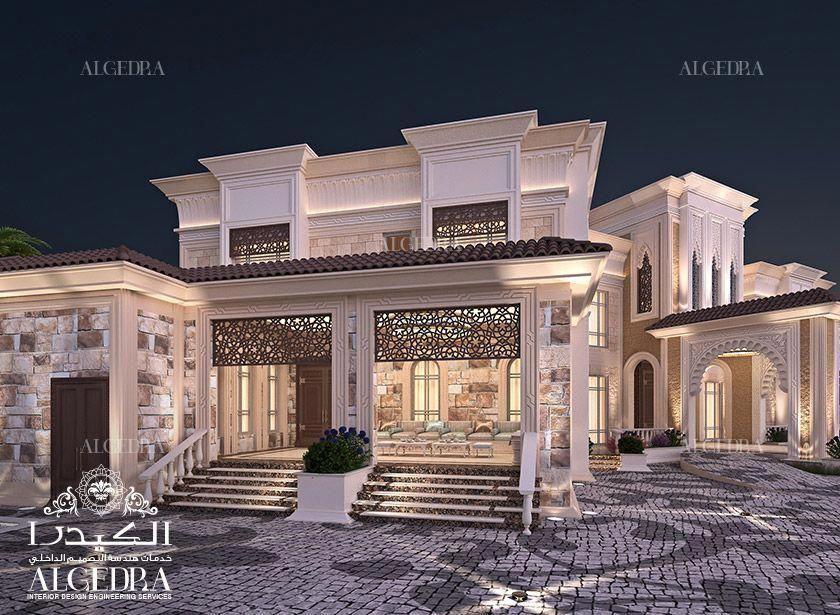 Exterior Design Gallery Best Villa Exteriors By Algedra Interiordesigndubai Bestinterio Exterior Design Interior Design Dubai Best Interior Design Websites