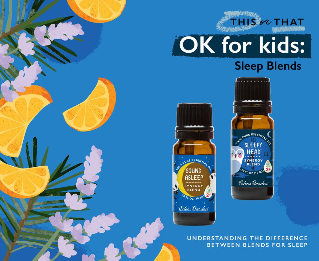 This or That Sleepy Head vs Sound Asleep Essential oils