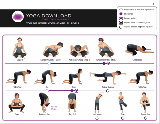 5 Downloadable Yoga Pose Sequences For All Levels Beginning Yoga Gentle Yoga Yoga Benefits