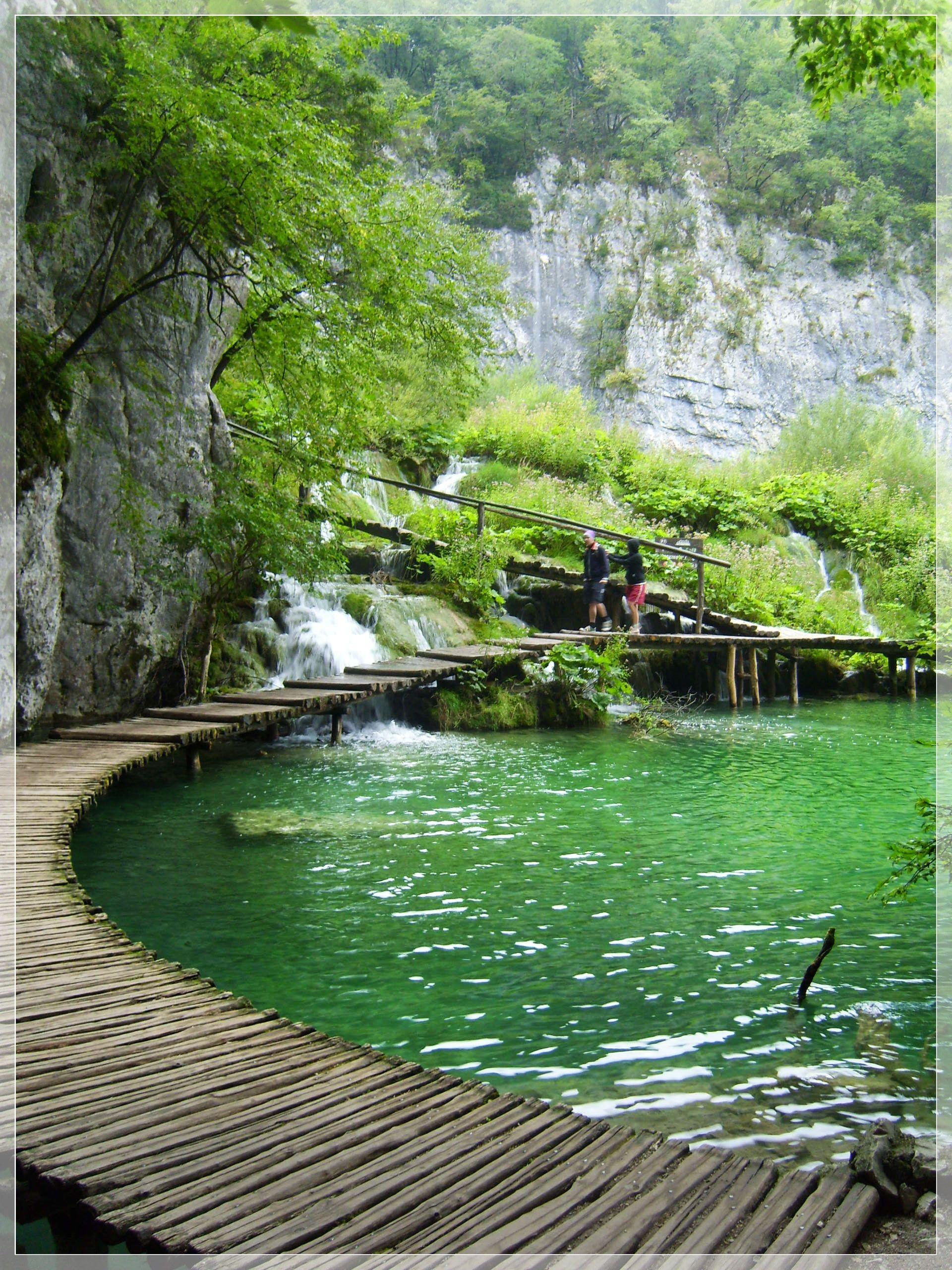Plitvička Jezera, Croatia. Never heard of it.. but its