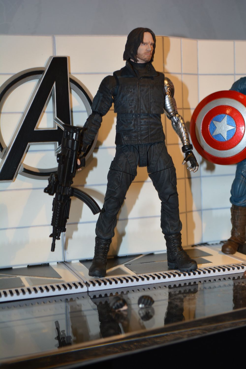 First Look At Marvel Select CIVIL WAR Figures For 'Captain America,' 'Winter