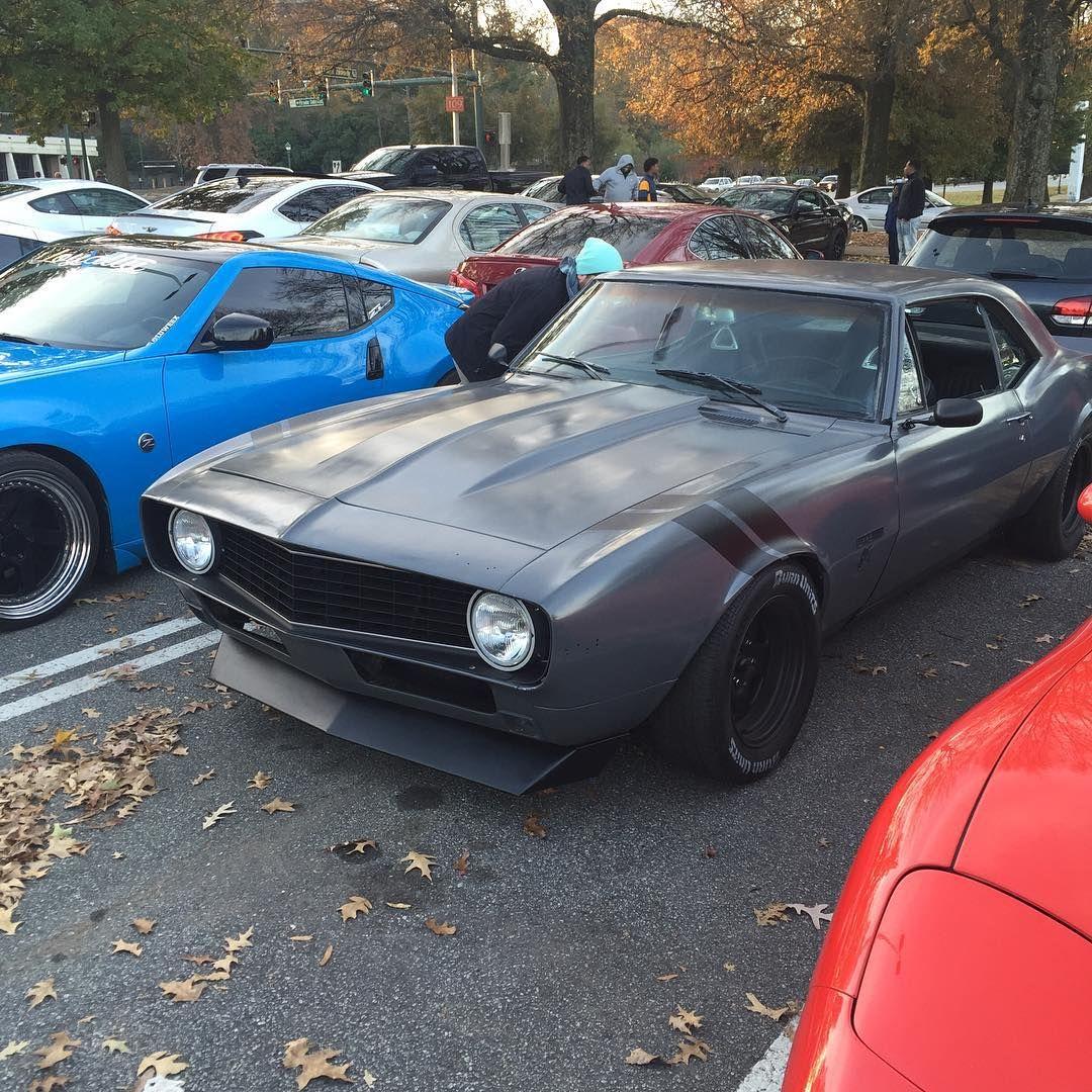 1969 camaro for sale in georgia - 67 Camaro Grey Side Fender Rally Gransport Stripes Black Pro Touring Spoiler Atl Atlanta