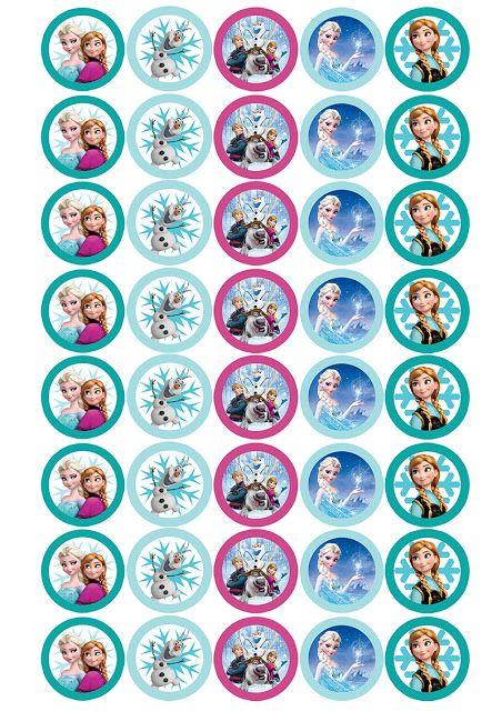 Imprimibles Candy bar de cumpleaños Frozen Decorar en familia - decoracion de cumpleaos