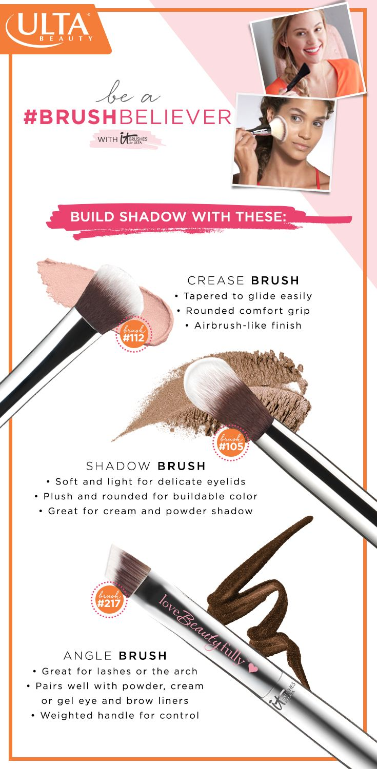 Change the way you makeup use brushes instead of your