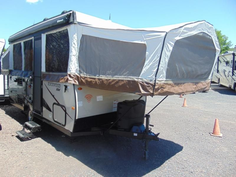 New 2019 Forest River Rv Rockwood High Wall Series Hw276 Folding