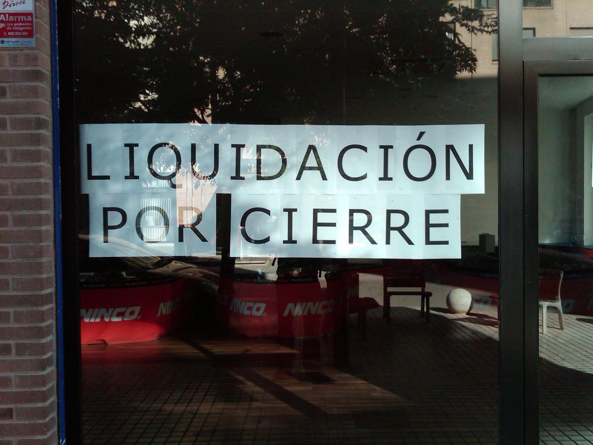 Liquidaci N Por Cierre Liquidaci N Descuento Rebajas  # Muebles Liquidacion Por Cierre
