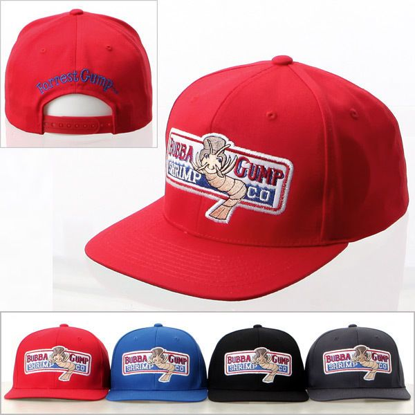 (UK) NEW Bubba Gump Shrimp CO Hat Forrest Gump Costume Embroidered Snapback  Cap  Hats ff9aed9c76b