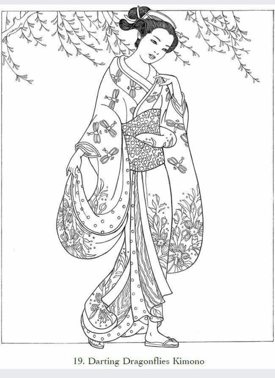 Pin By Esther Rt On Japanese Design Designs Coloring Books Coloring Pages Coloring Pictures