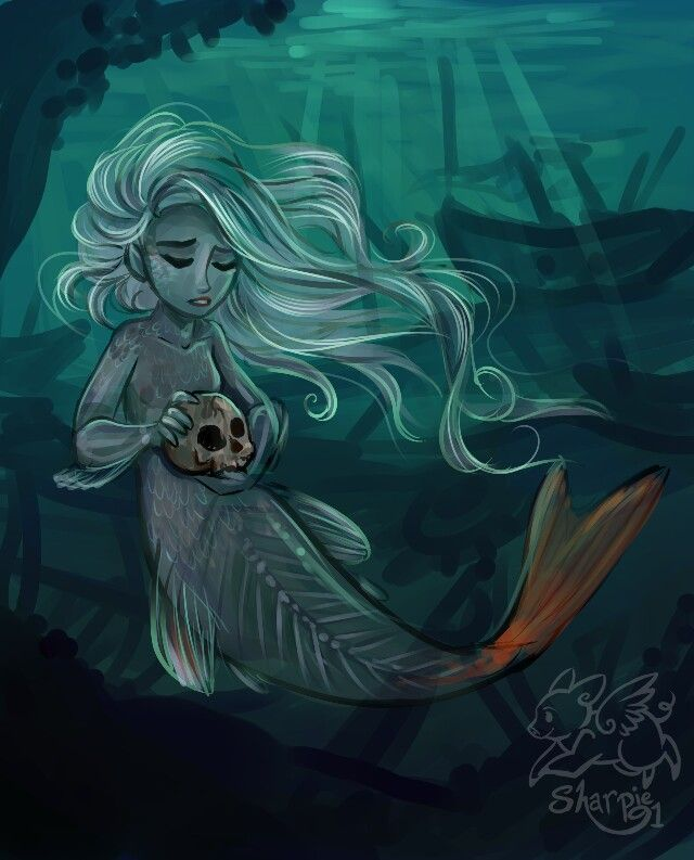 Deep within the sea by Sharkie-19 | Sirena in 2019 ...