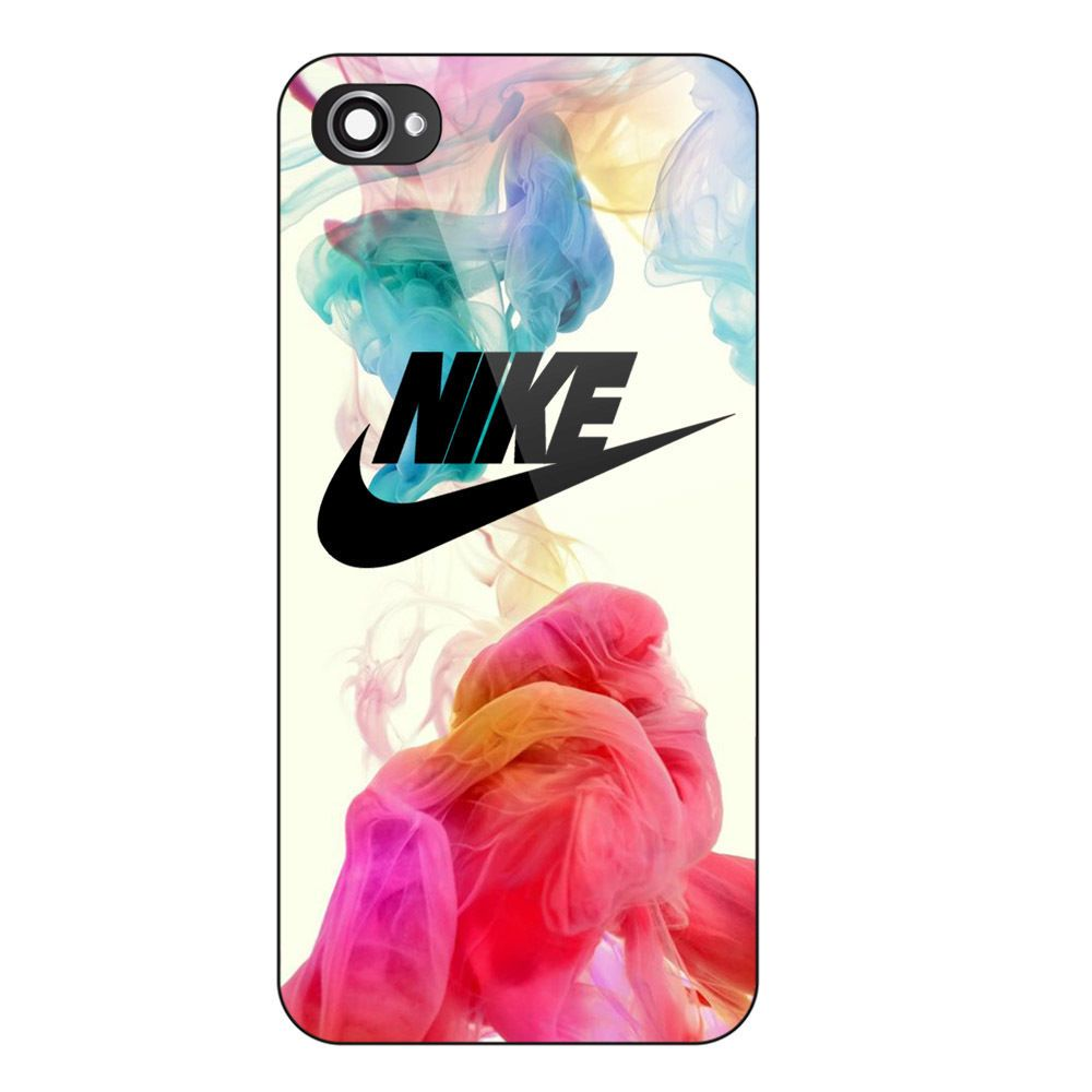 cheap for discount ed61e 7ceda Nike Logo Colorful Smoke Print On Hard Case For iPhone 6/6s ...