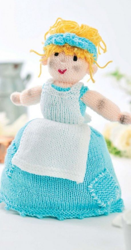 Topsy Turvy Cinderella Doll Free Knitting Patterns Knitting