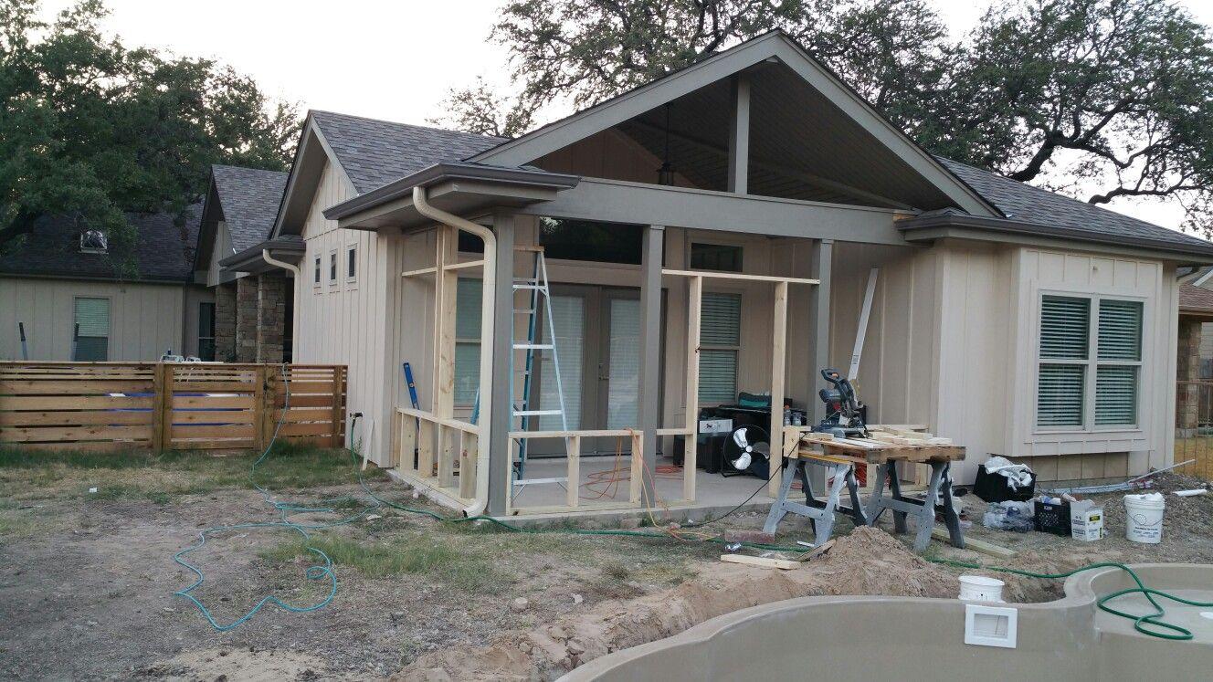 Retrofitting a screened porch Retrofitting a screened