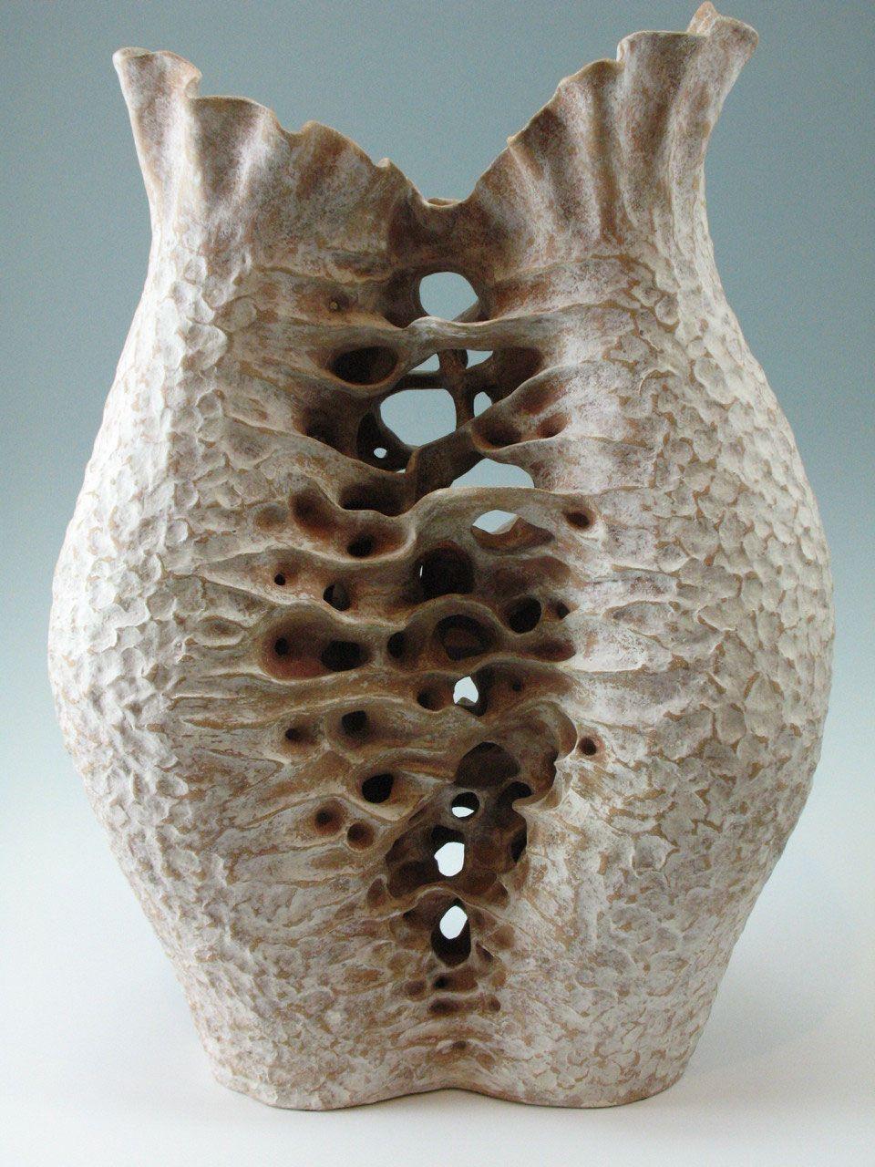 Abstract Organic Form By Elizabeth Shriver Organic Sculpture Organic Ceramics Organic Form