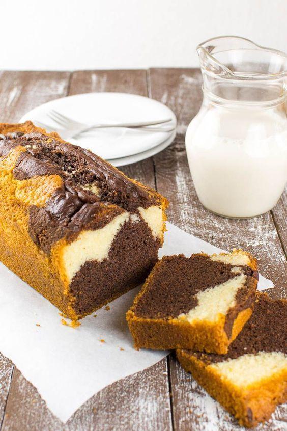 Perfekter veganer Marmorkuchen #quickcookies