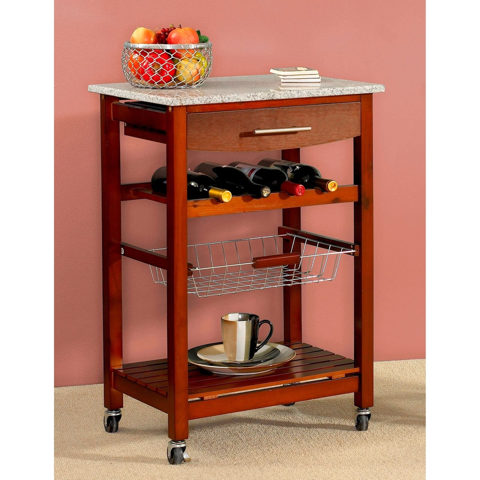 Product Information Small Kitchen Island Rolling Cart ...