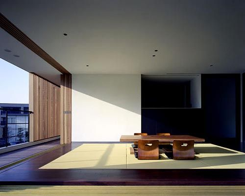 Modern private house interior design clean minimalist and for Minimalist japanese homes