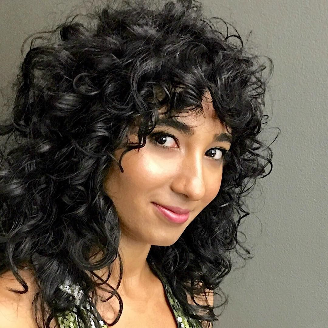 Pin By Beth Wischnia On Shags For Curly Hair Pinterest Curly