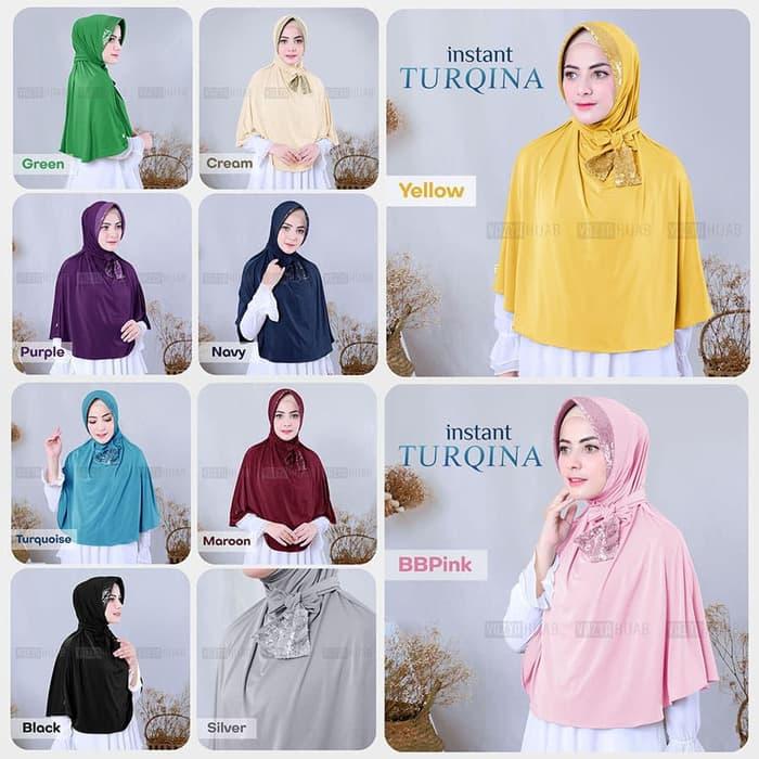Hijab Syar'i Turqina Cantik Model Terbaru 2020 Hijab
