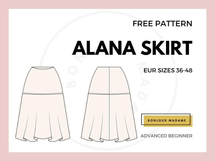 free pattern size 38-48 | free sewing pattern for women | Pinterest