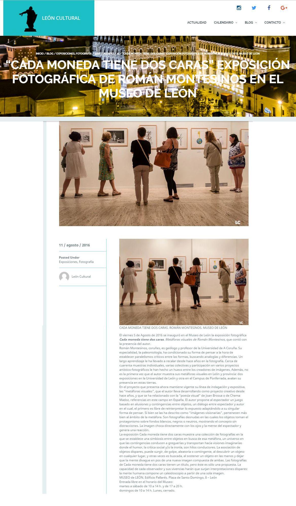 """Las fotos de la inauguración en el Museo de León en """"León Cultural"""""""