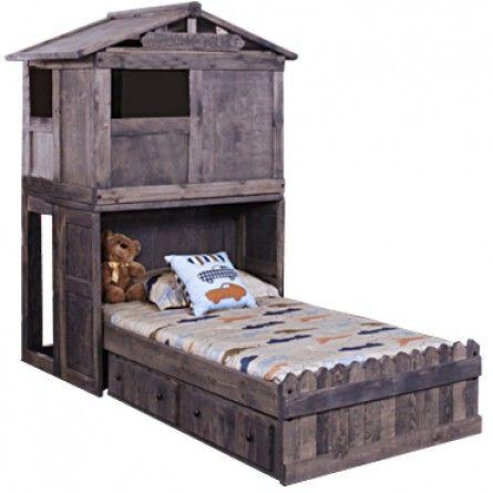 TRENDWOOD FORT BUNKHOUSE BED SETS LOFT BED