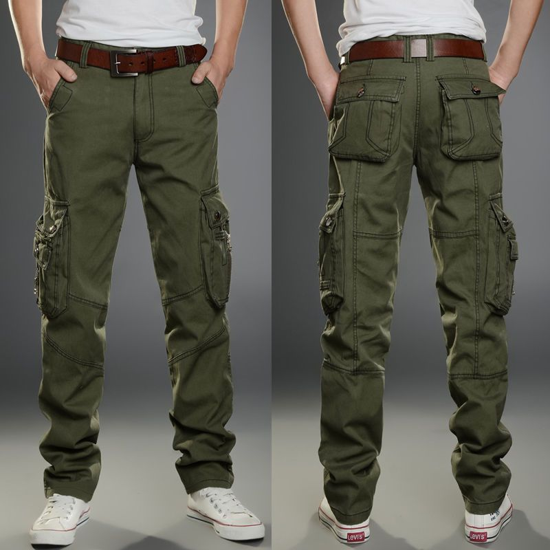 e9be0661456d05 New Mens Tactical Overalls Pants Pocket Military Leisure Cargo Combat  Trousers | Clothing, Shoes & Accessories, Men's Clothing, Pants | eBay!