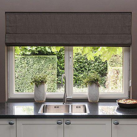 Pin Van Hannah Van Boxtel Op Interieur Binnen Gordijnen Keukenraam Grote Ramen