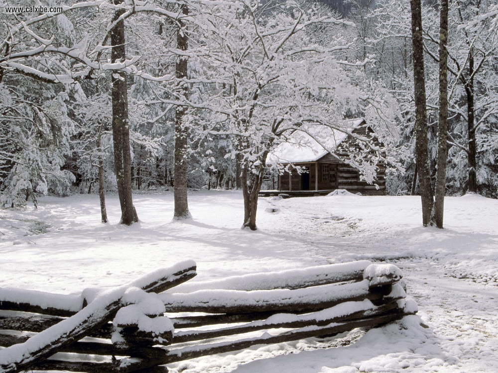 smoky mountain images winter - Google Search #fondecranhiver