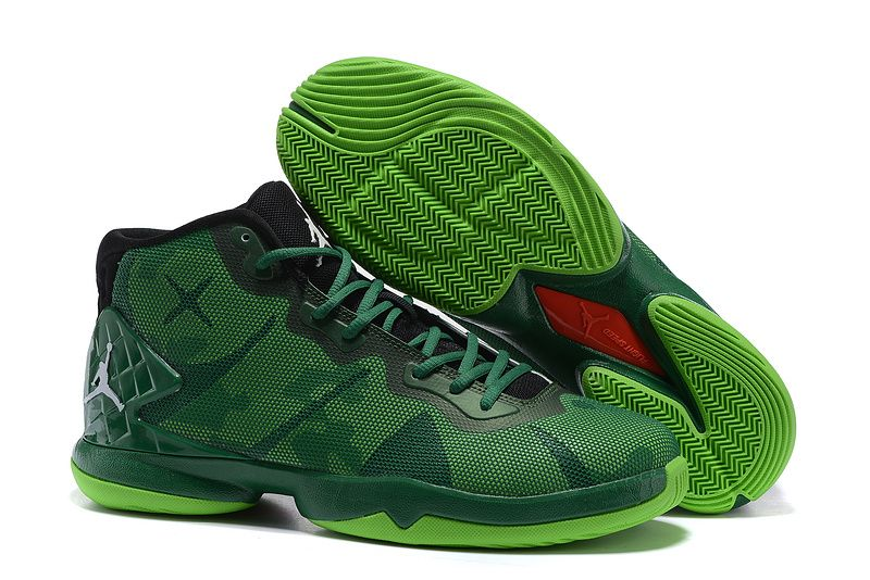 Jordan Super.Fly 4 Blake Griffin Sneakers Black Green Red