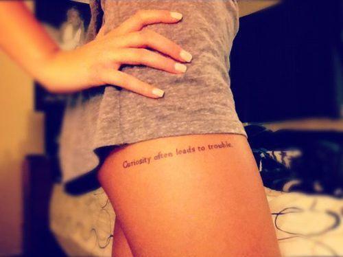 12 Ideas Sexys Para Hacerte Un Tattoo En La Pierna Tattoo 1