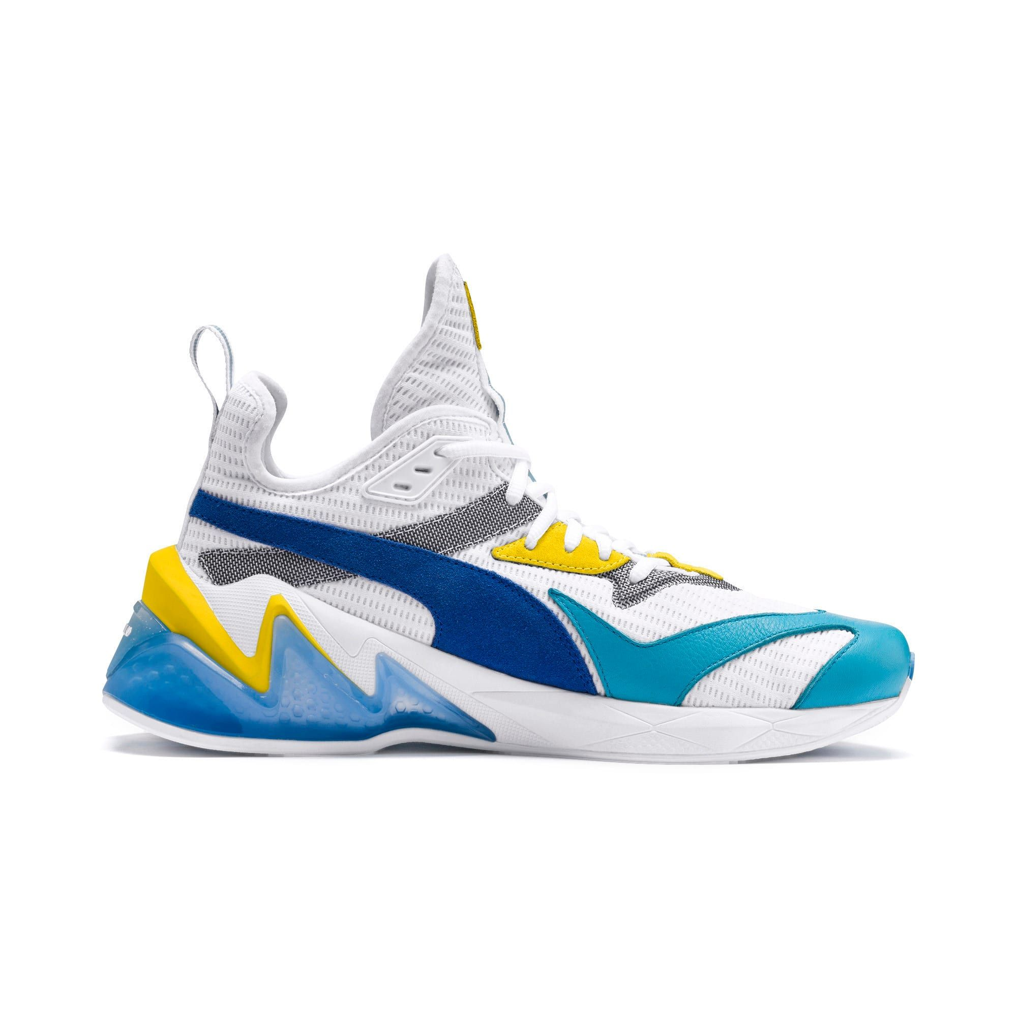 LQDCELL Origin Men's Shoes | Puma White-B Blue-Blz Yellow | PUMA LQD Cell Collection | PUMA United Kingdom #nikefreeoutfit