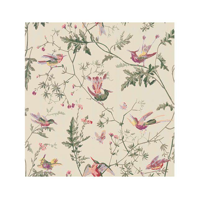 Cole & Son Hummingbirds Wallpaper, 100/14071 Hummingbird
