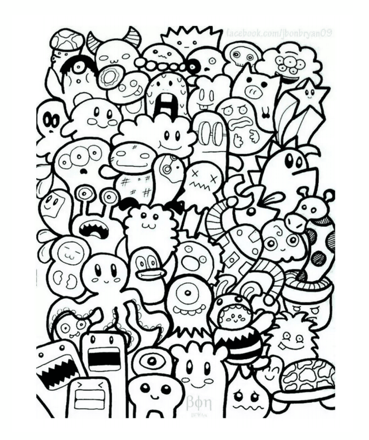 Relax With These 3 700 Free Printable Coloring Pages For Adults Free Coloring Pages For Adults At Just Color Cute Doodle Art Doodle Art Doodle Drawings