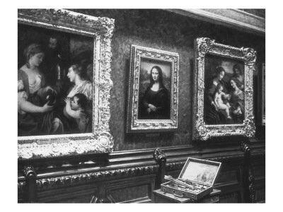 Au Salon Carre Du Louvre La Joconde Arte Divertido Arte Gioconda