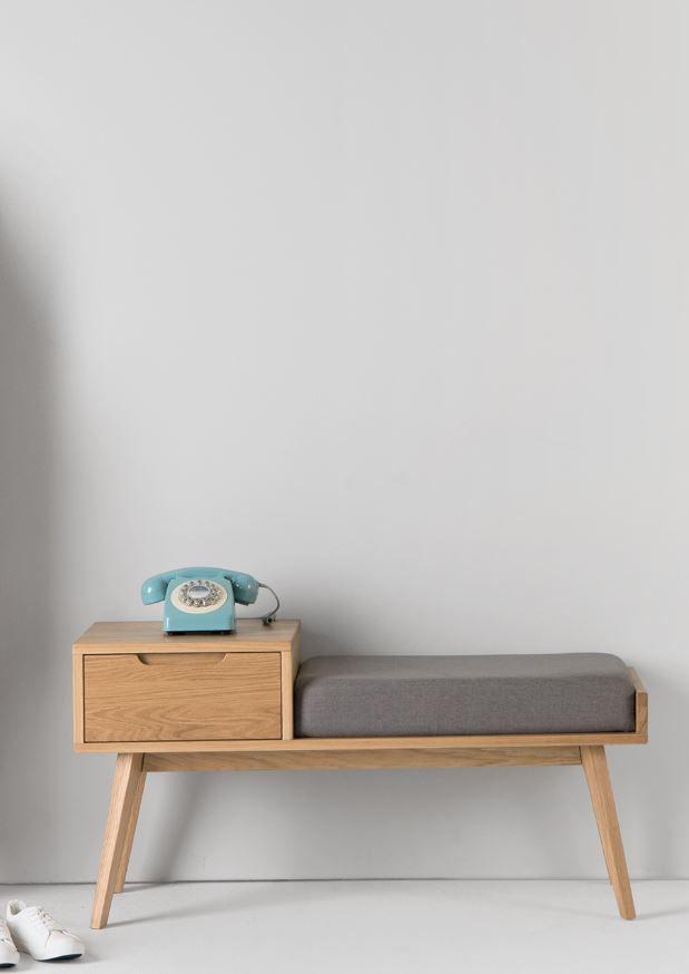 Bathroom Bench jenson storage bench, oak | storage benches, storage and interiors