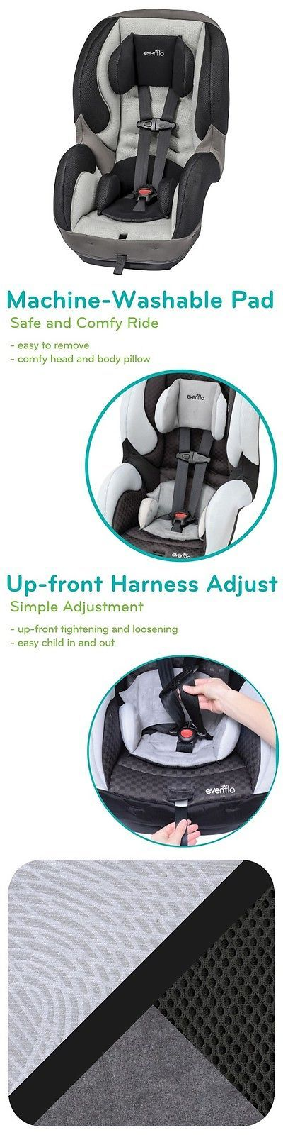 Other Car Safety Seats 2987 Evenflo Sureride Dlx 65 Convertible Carseat BUY IT NOW ONLY 8999 On EBay