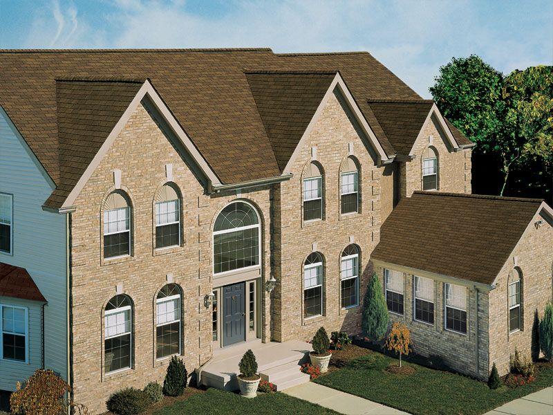 Best Quality First Home Improvement Autumn Brown Gaf 3Tab 400 x 300