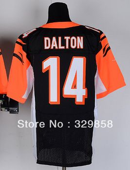 Wholesale Authentic Elite American Football Jerseys  14 Andy Dalton  Embroidery Logos 455b9d554