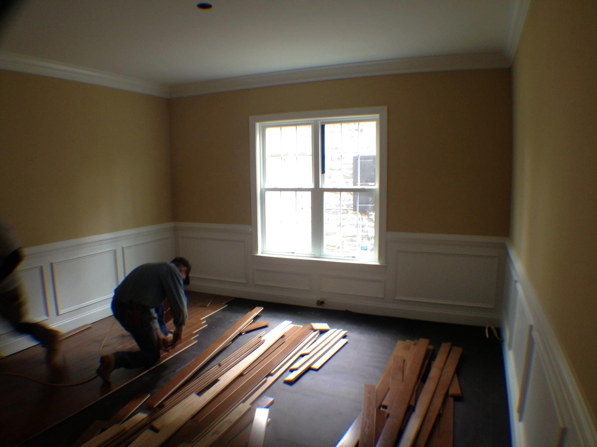 Chair Rail Crown Molding Part - 35: What Do You Think Of The Shadowboxing, Chair Rail And Crown Moulding?