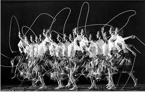 Harold E. Edgerton #jump #rope #motion