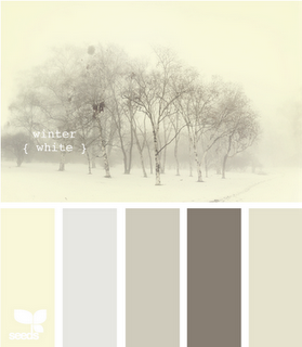Dream bedroom palette. But probably more like my kitchen or living room, once husband has his say. :)