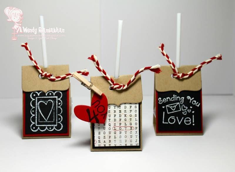 Valentine Lollipop Covers  Valentines  Pinterest  Lollipops