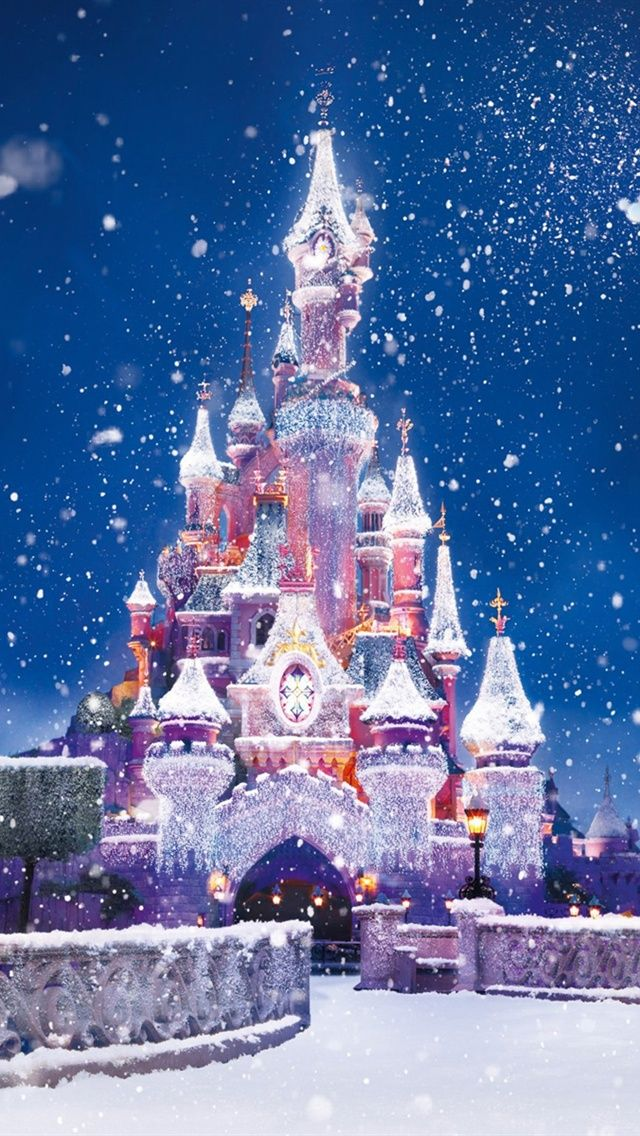 Disney Disney No Natal Papel De Parede Para Iphone Disney
