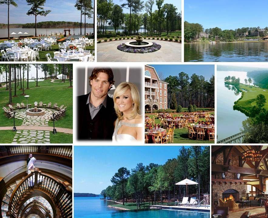 Carrie Underwood's wedding RitzCarlton Lodge Reynolds