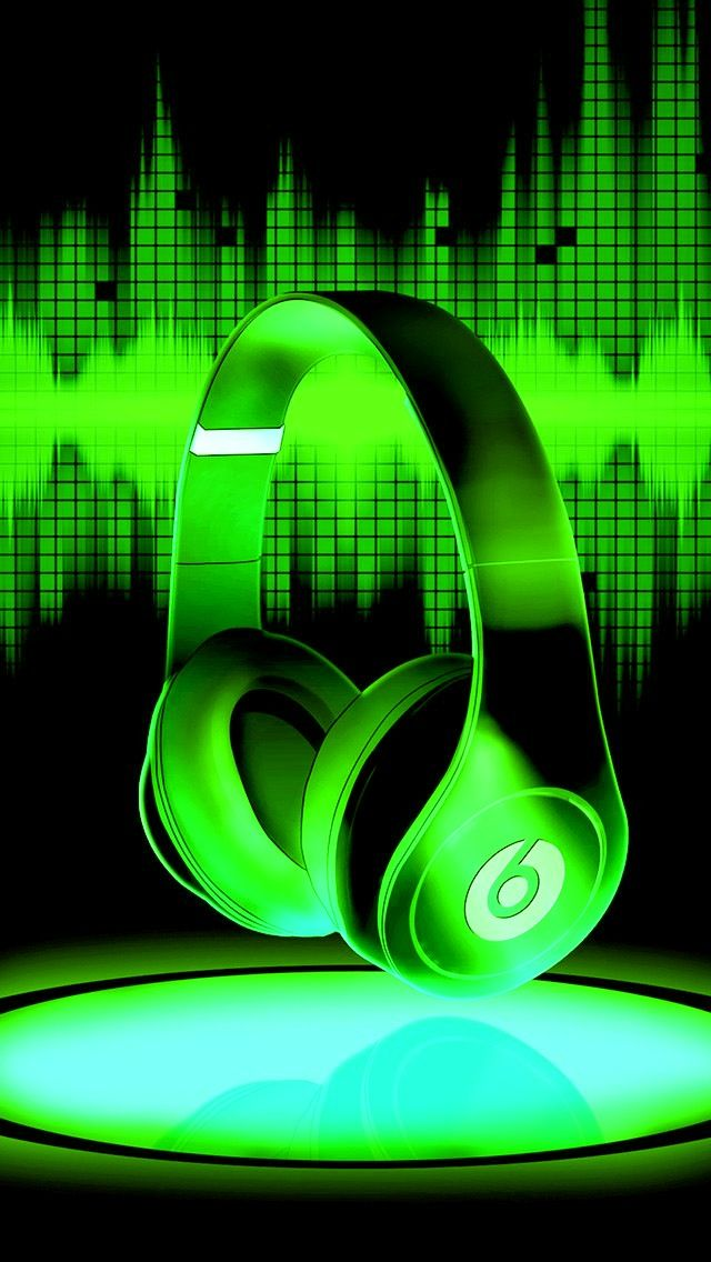 Green Beats Wallpaper Iphone Neon Wallpaper Neon Green