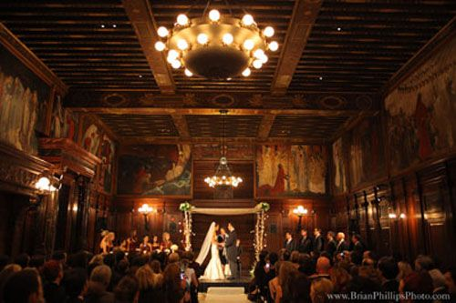 Boston Public Library Massachusetts Wedding VenuesLibrary