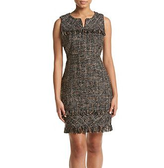 Nanette Nanette Lepore Spliced Neckline Dress